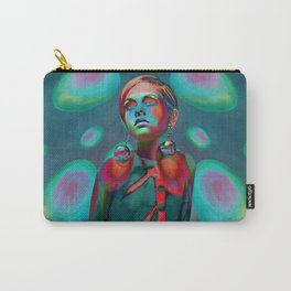 """""""Psychedelic Pop Fantasy"""" (Twiggy) Carry-All Pouch"""