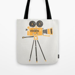 Cine Camera Tote Bag