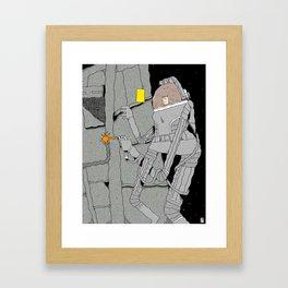 Stranded. Framed Art Print