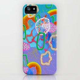 Alien Organisms 16 iPhone Case