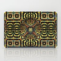 stargate iPad Cases featuring Stargate - Mayan Edition by Lyle Hatch