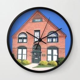 Ticonderoga Heritage Museum Wall Clock