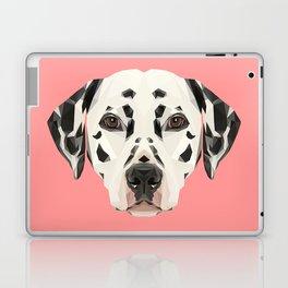 Dalmatian // Pink  Laptop & iPad Skin