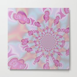 Pastel SOS Metal Print