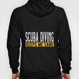 Scuba Diving Lovers Gift Idea Design Motif Hoody