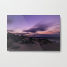 Only when the sun sets Metal Print