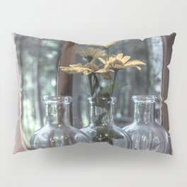 Bottled Flowers Pillow Sham