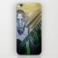 allyson johnson iPhone & iPod Skins featuring Robert Johnson  by Robert E. Richards