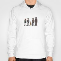 guardians of the galaxy Hoodies featuring Guardians of the Galaxy by Eight Bit Design