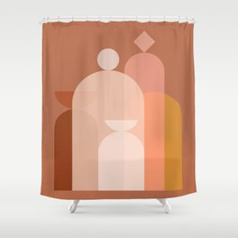 Abstraction_STILL_LIFE_Objects_Minimalism_001 Shower Curtain