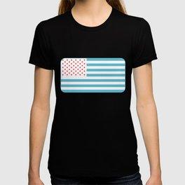 U.S.A. Flag Modified T-shirt
