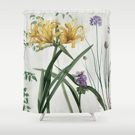 Softly IV Shower Curtain
