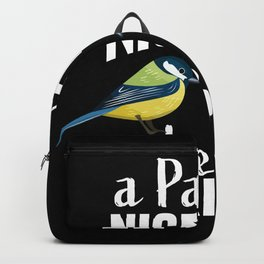 Pair of Nice Tits Bird watching Gift Backpack