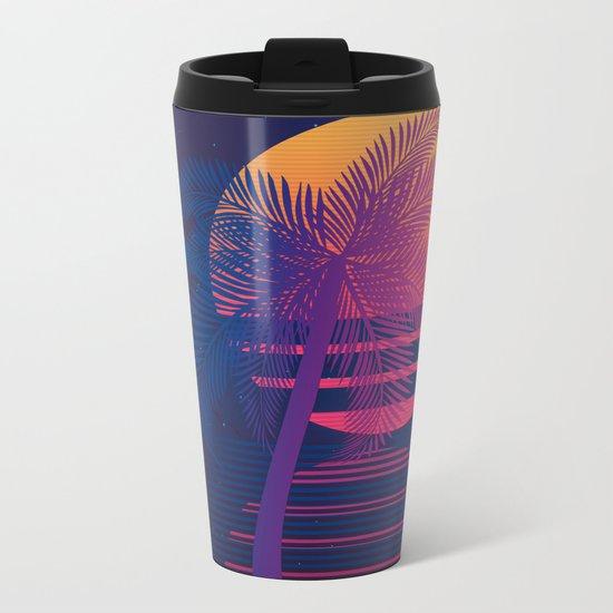 Sunset Dreams Metal Travel Mug