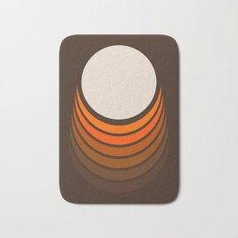 Golden Crescent Bath Mat