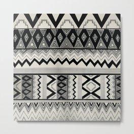 Aztec Pattern No. 8 Metal Print