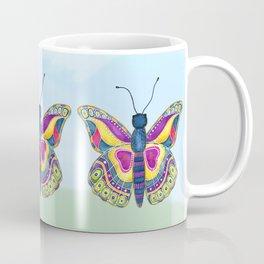 Butterfly III on a Summer Day Coffee Mug