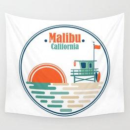 Malibu, California Wall Tapestry