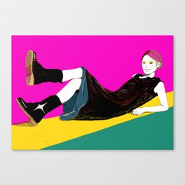 sae-pink Canvas Print