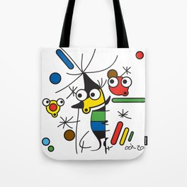 Ooh Zoo – art-series, Miro Tote Bag