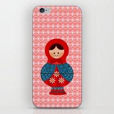 Matrioskas (Russian dolls) iPhone & iPod Skin