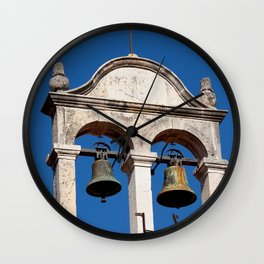 Twin Bells at Old Church Wall Clock
