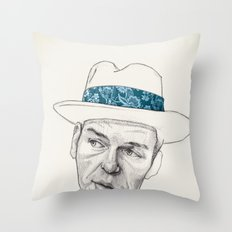 Sinatra Throw Pillow