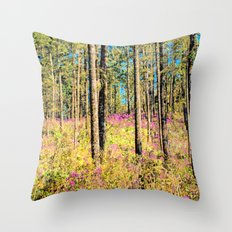WOODN'T IT BE LOVELY Throw Pillow