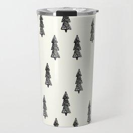 SIMPLE CHRISTMAS TREES Travel Mug