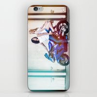 the vampire diaries iPhone & iPod Skins featuring Motorcycle Diaries by Marcus Meisler
