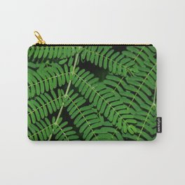 Green Ferns Carry-All Pouch