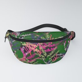 Vibrant Tropical Fanny Pack