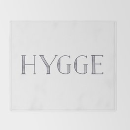 HYGGE Throw Blanket