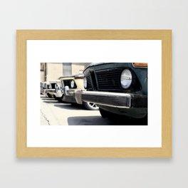 Cruisin' Framed Art Print