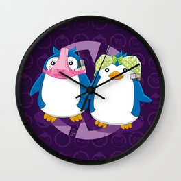 N°1 & N°2 - Sexy Spies Wall Clock