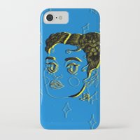 fka twigs iPhone & iPod Cases featuring FKA TWIGS by DINA LOPEZ