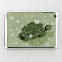 turtle iPad Cases featuring Turtle by David Owen Breeding