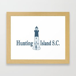 Hunting Island - South Carolina. Framed Art Print