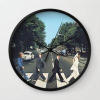 potter Wall Clocks featuring Potter Road by alboradas