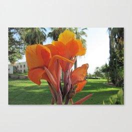 Floral Service Canvas Print
