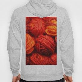 Many Balls of Wool in Shades of Red #society6 #decor #buyart Hoody