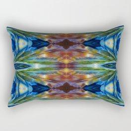 Feather Bloom Study Pattern Rectangular Pillow