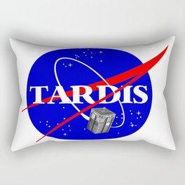 Tardis NASA Parody Rectangular Pillow