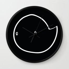 Mono Ghostie Wall Clock