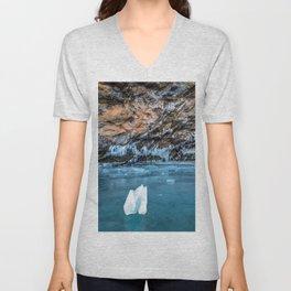 The Ice Grotto Unisex V-Neck