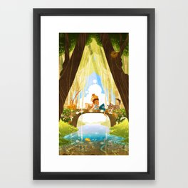 The Crossing - For An Afternoon Framed Art Print