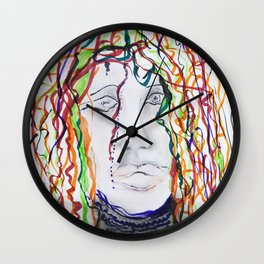 frivolity Wall Clock