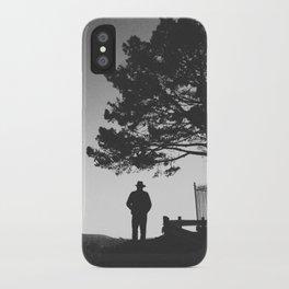 COWBOY (B+W) iPhone Case