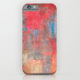 Abstract 0495 iPhone Case