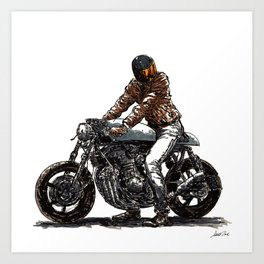 Rider 11 Art Print